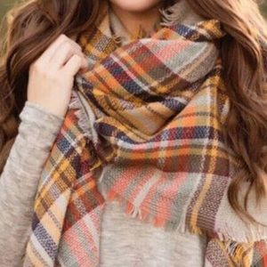 Accessories - 🧡💛PLAID SCARF